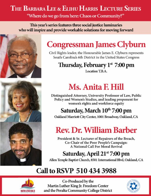 REV. DR. WILLIAM BARBER @ Allen Temple Baptist Church | Oakland | California | United States