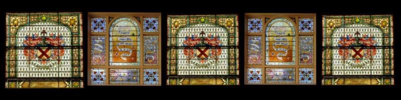 Tiffany Window Collage