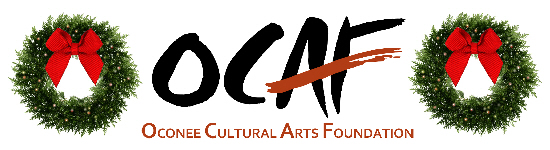 OCAF Holiday Logo