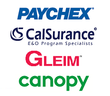 2017 NAEA National Conference Sponsors Paychex Calsurance Gleim Canopy