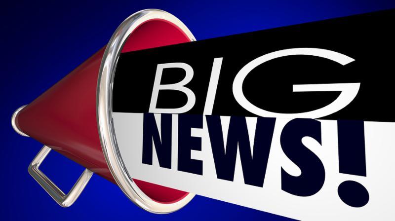 Big News Announcement Important Update Megaphone Bullhorn 3d Illustration