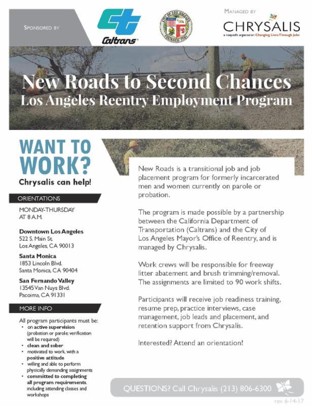Larrp Employment Announcement