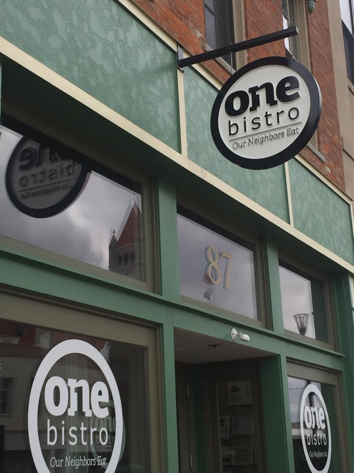 one bistro signs