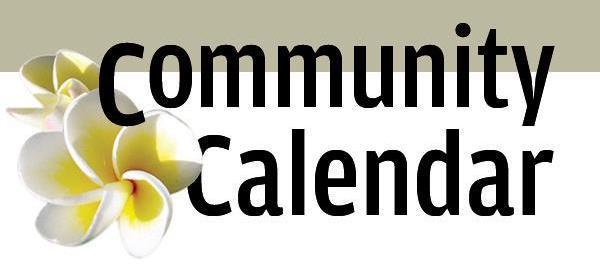 Community Calendar.