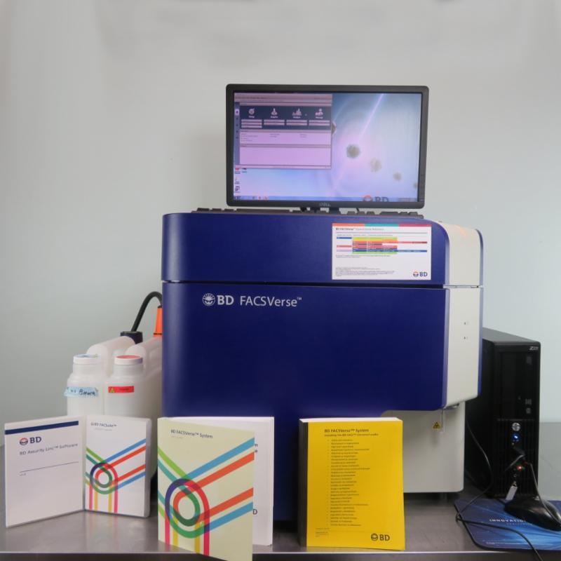 Facsverse flow cytometer