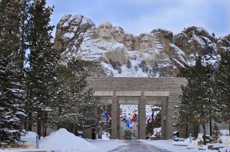 Mt Rushmore just 20min. from my front door.