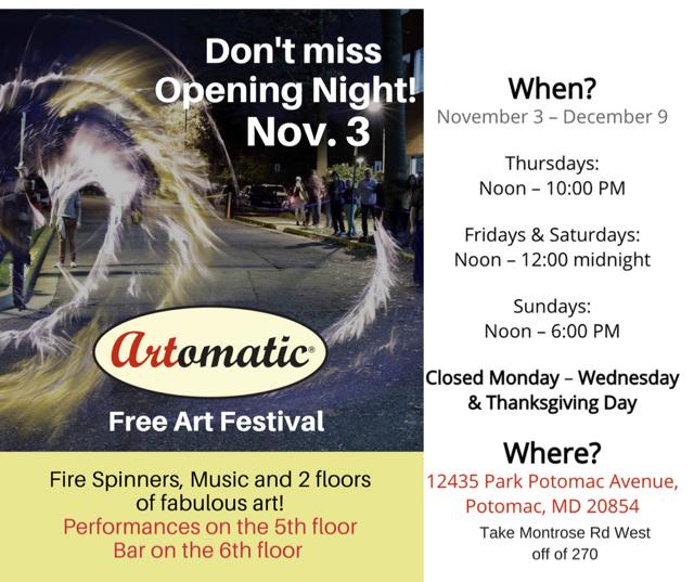 Artomatic @ Potomac | Maryland | United States