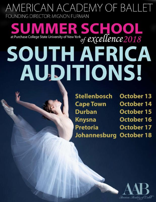 AAB - South African Auditions for Summer School of