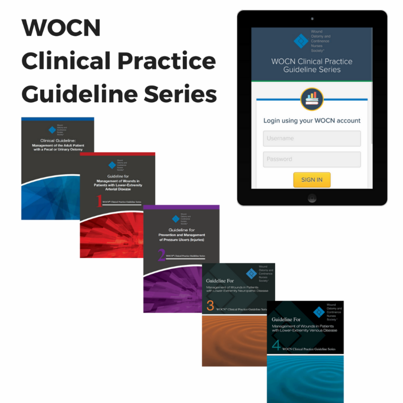 Get the WOCN Clinical Practice Guideline Series on your mobile device