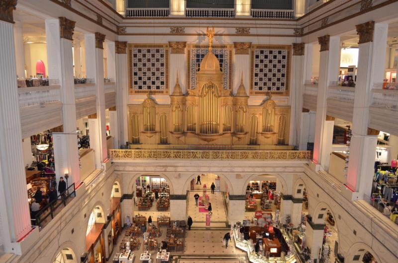 Wanamaker Grand Court Organ at Macy_s Center City