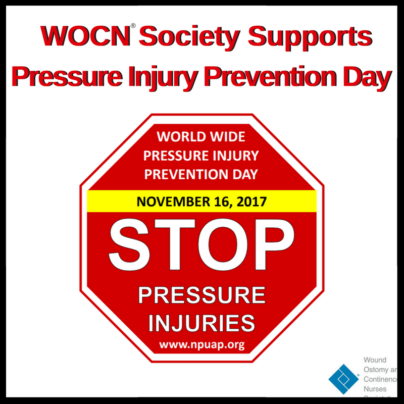 World Wide Pressure Injury Prevention Day is to be celebrated on November 16_ 2017