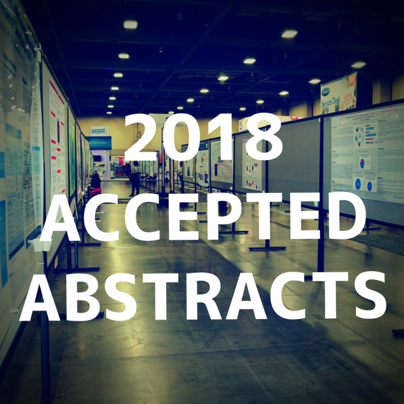 View accepted abstracts here