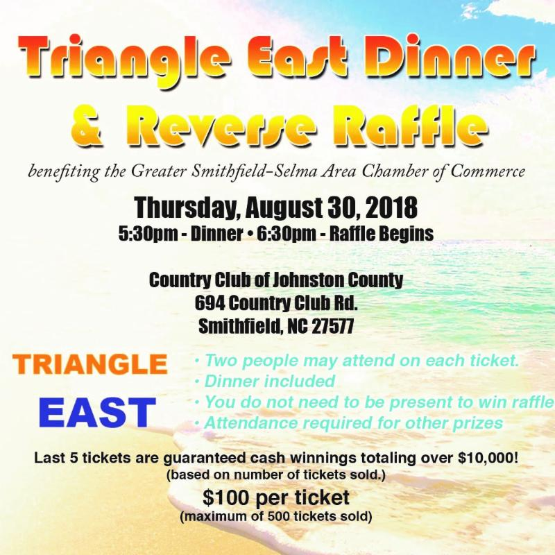 Triangle East Dinner & Reverse Raffle