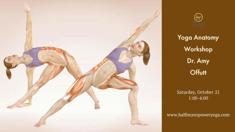 Mark Your Calendar: Yoga Anatomy Workshop