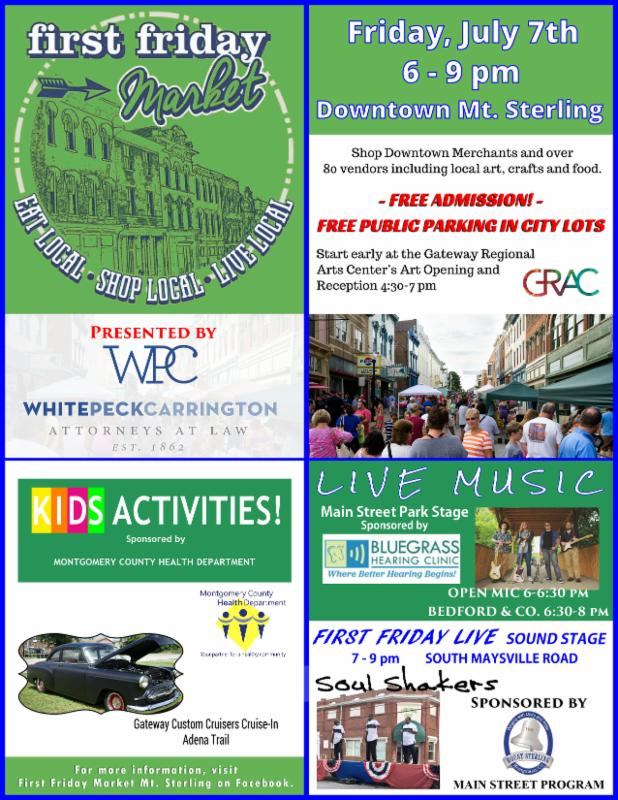 Summer Fun Events in Mt. Sterling, KY!