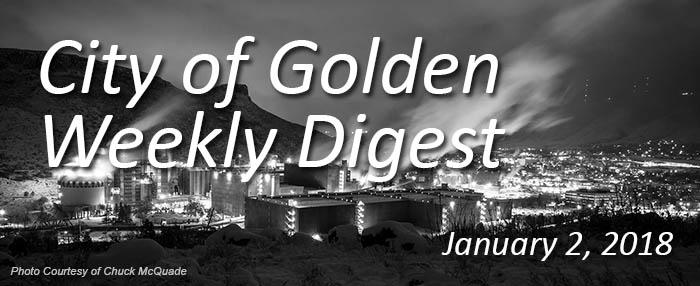 Weekly Digest - January 2, 2018