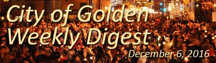 December 6 Weekly Digest