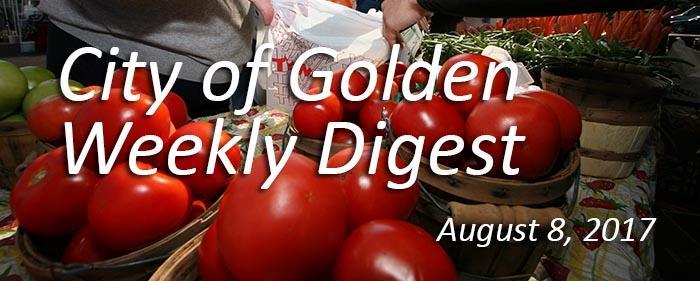 Weekly Digest - August 8, 2017
