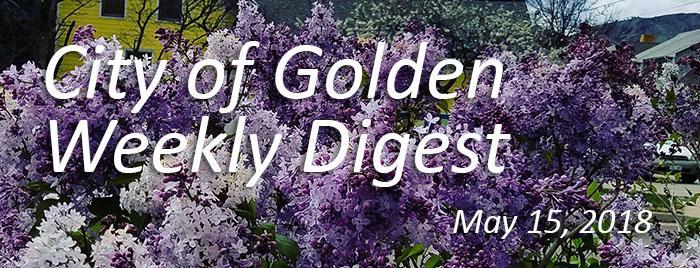 Weekly Digest May 15 2018