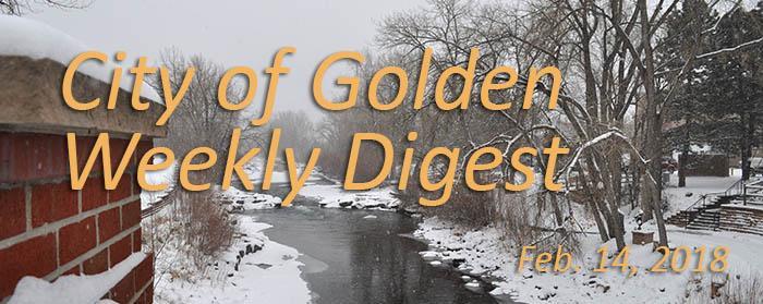Weekly Digest, Feb. 14, 2018