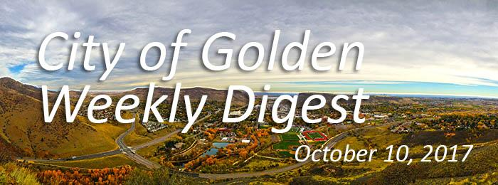 Weekly Digest - October 10, 2017