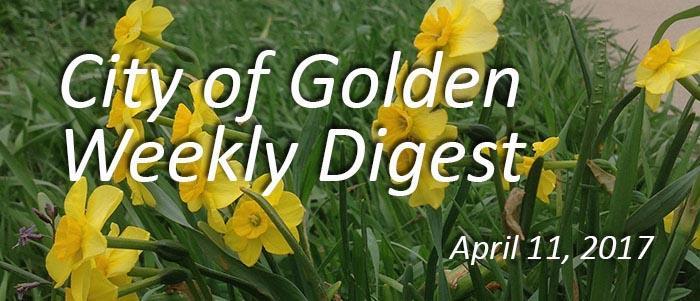 Weekly Digest, April 11, 2017