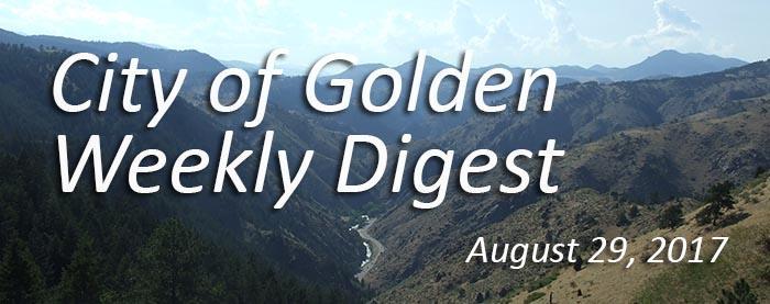 Weekly Digest - August 29, 2017