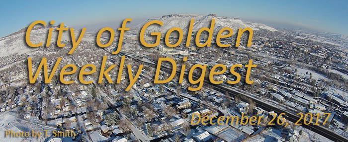 Weekly Digest - December 26, 2017