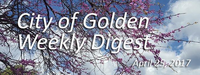 Weekly Digest, April 25, 2017