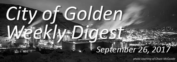 Weekly Digest - September 26, 2017
