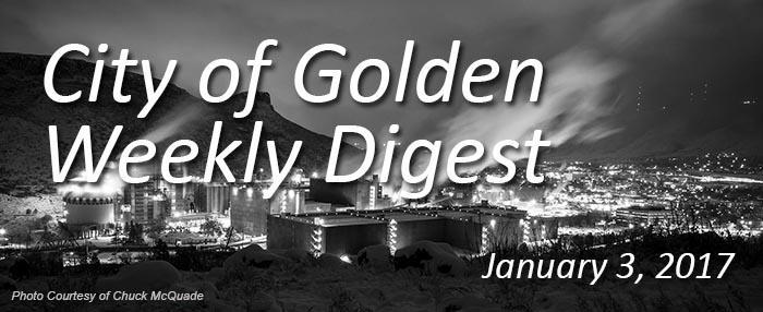 Weekly Digest - Jan. 3, 2017
