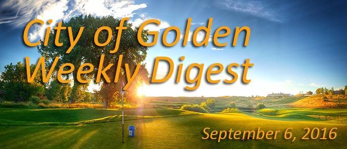Weekly Digest Sept 6