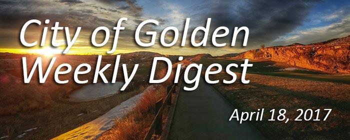 Weekly Digest - April 18, 2017