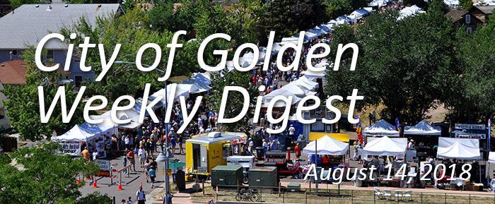Weekly Digest August 14 2018
