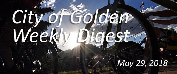 Weekly Digest - May 29 2018