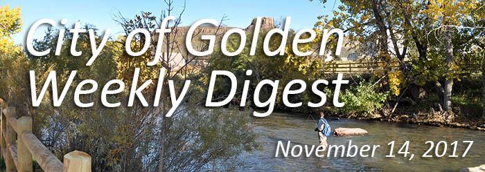 Weekly Digest - November 14, 2017