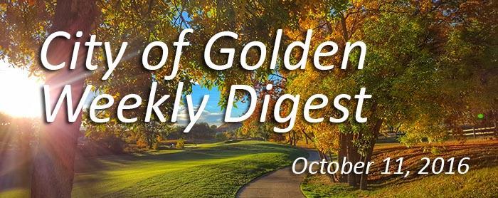October 11 Weekly Digest