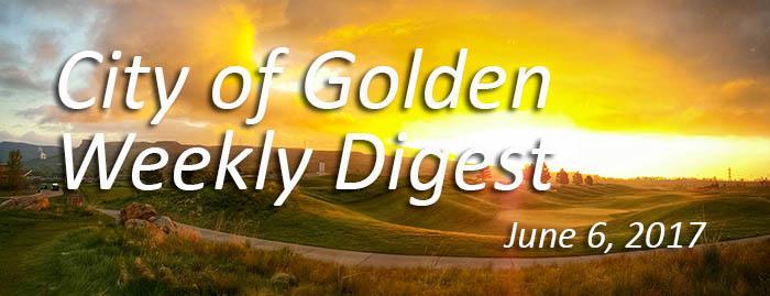 Weekly Digest - June 6, 2017