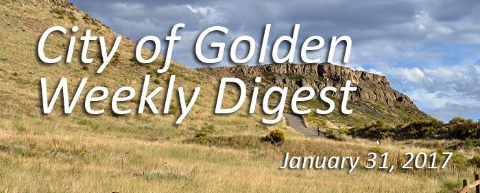 January 31 - Weekly Digest