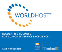 Recognized WorldHost® Business
