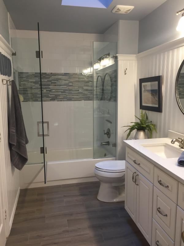 image of hall bathroom