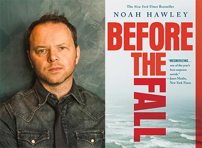 Noah Hawley will present his Edgar Award-Winning Novel_ Before the Fall 07062017