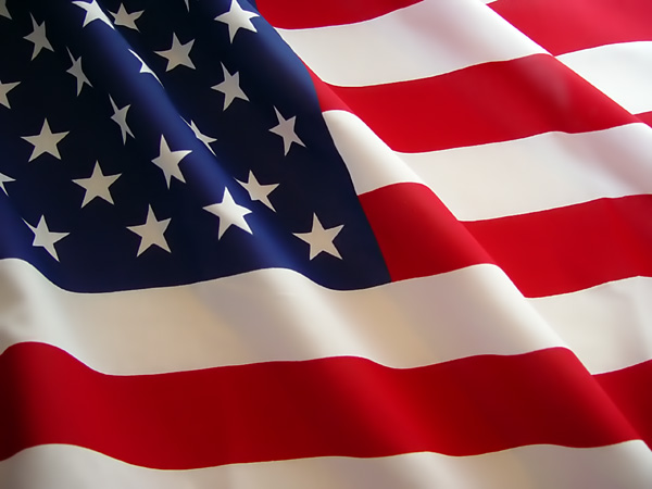 Happy Independence Day with American Flag 04042017