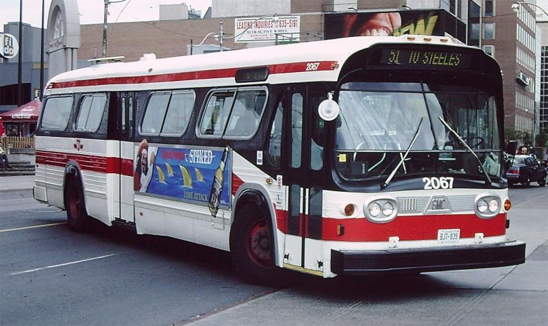 TTC Bus David Onodera