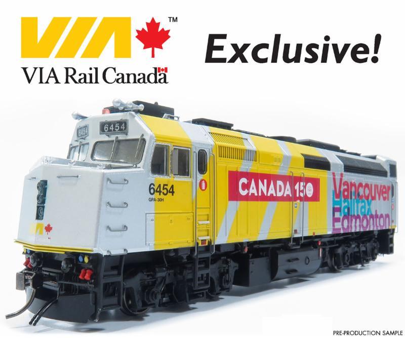VIA Canada 150 F40