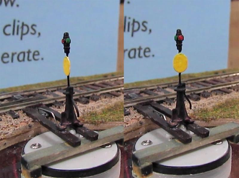 HO Scale Switch Stands