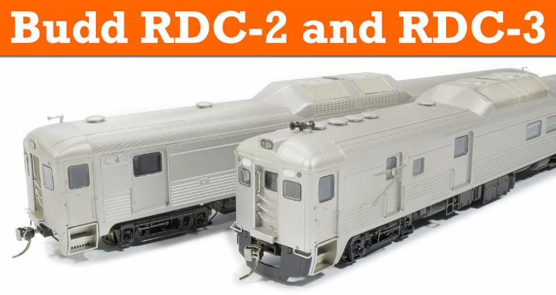 HO scale RDC2 RDC3