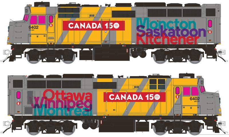 VIA Canada 150