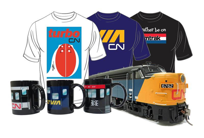 Rapido T-Shirts Mugs Trains