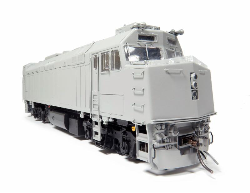 VIA Rebuilt F40 Rapido